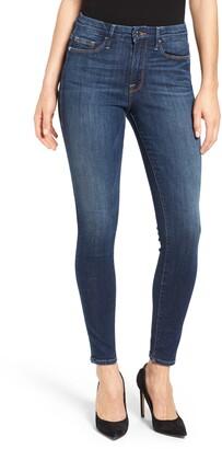 Good American Good Legs Long Ankle Skinny Jeans