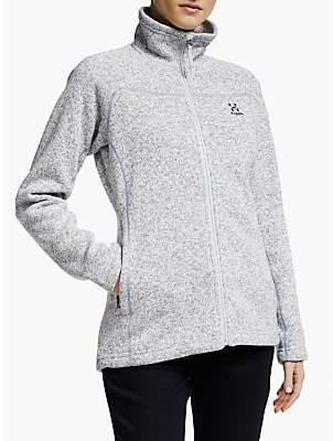 Haglöfs Swook Women's Fleece Jacket, Concrete