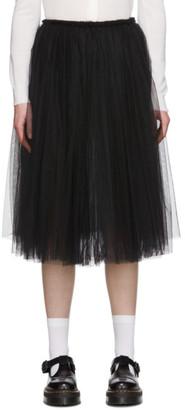 Comme des Garçons Comme des Garçons Black Tulle Skirt