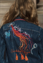 MiH Jeans Stockholm Denim Jacket Customised By Amanda Norgaard