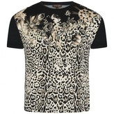 Roberto Cavalli Roberto CavalliGirls Black Leopard Print Top