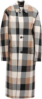 MACKINTOSH Gingham Wool-twill Coat