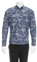 Timo Weiland Camouflage Button-Up Shirt