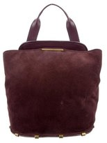 Zac Posen Leather & Suede Bag