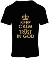 lepni.me T shirts for women Trust in God! Jesus shirt christian gifts jesus christ clothing
