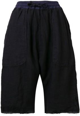 Kristensen Du Nord Frayed Hem Shorts