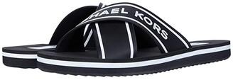 MICHAEL Michael Kors Sparrow Slide (Black) Women's Shoes