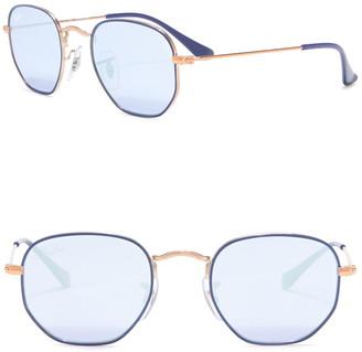 Ray-Ban Geo Shaped 44mm Sunglasses