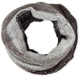 Betsey Johnson Crystal Cowl Infinity Scarf
