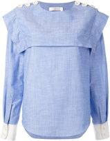 Chloé buttoned sailor blouse - women - Cotton - 36