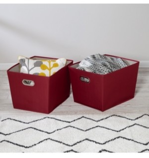 Honey-Can-Do Set of Two Large Storage Bins