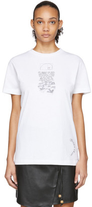 Off-White White Dripping Arrows T-Shirt