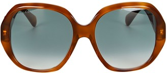 Gucci Oversized Octagonal Sunglasses