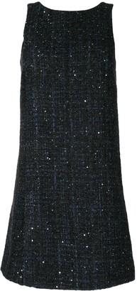 Emporio Armani Tweed Shift Dress