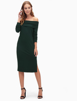 Splendid French Terry Cold Shoulder Dress