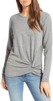 Stateside Women's Front Twist Fleece Sweatshirt