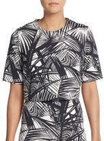 Elizabeth and James Lowell Palm-Print Blouse