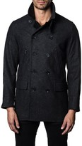 Jared Lang Men's Double-Breasted Coat
