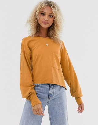 Free People Austin long sleeved t-shirt