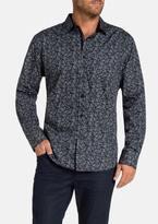 TAROCASH Santo Paisley Print Shirt