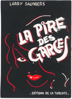 Olympia Le-Tan La Pire Des Garces book clutch - women - Cotton - One Size