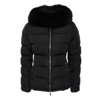 Prada Black Fur Coats