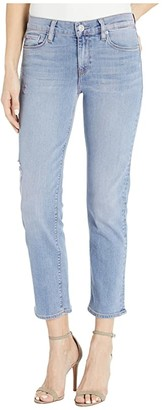Hudson Jeans Nico Mid-Rise Crop Straight in Illum. Ceris (Illuminate) (Illum. Ceris (Illuminate)) Women's Jeans