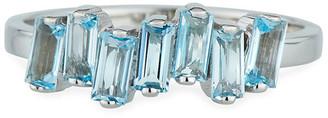 Suzanne Kalan KALAN by 14K White Gold Amalfi Wave Ring, Size 4-8.5