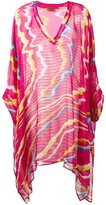 Missoni swirl colour tunic