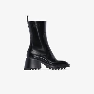 Chloé Black Betty 50 Rain Boots
