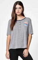 Volcom Out Da Park Short Sleeve Henley T-Shirt