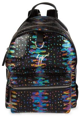 Giuseppe Zanotti Oil Slick Backpack