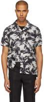 Attachment White Short Sleeve Hawaiian Shirt