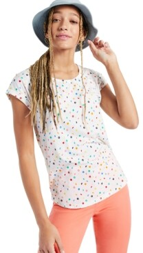 Style&Co. Style & Co Mixed Dots Printed T-Shirt, Created for Macy's