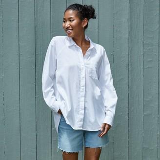 Universal Thread Women's Long Sleeve Button-Down Boyfriend Shirt - Universal ThreadTM True