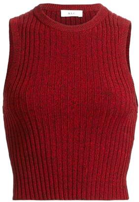 A.L.C. Marie Rib-Knit Tank Top