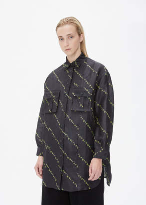 Ganni Long Sleeve Button Up