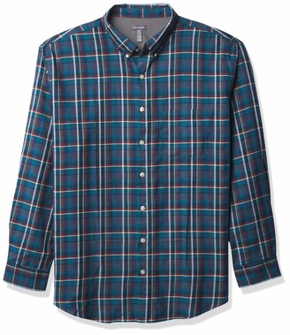 Van Heusen Men's Big & Tall Big Flex Long Sleeve Stretch Button Down Shirt