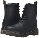 Dr. Martens Kid's Collection 1460 Youth Delaney Boot (Big Kid) (Black) Kids Shoes