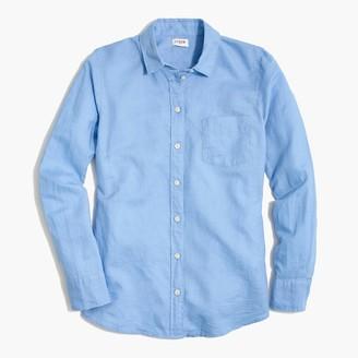 J.Crew Linen-cotton shirt in signature fit