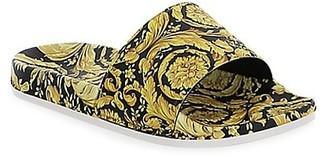 Versace Little Kid's and Kid's Barocco Slide Sandals