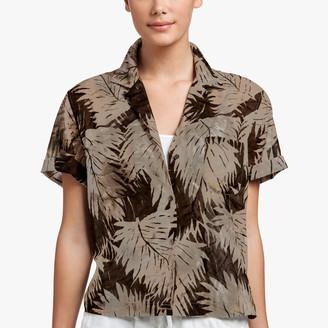 James Perse Palm Print Shirt
