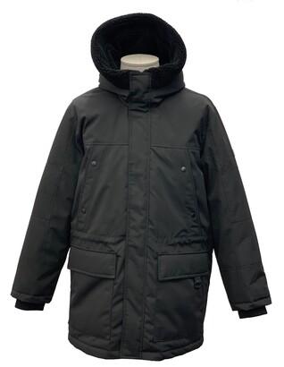 Sean John Weather Resistant Hooded Parka