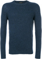 Roberto Collina crew neck sweater - men - Nylon/Camel Hair/Merino - 46