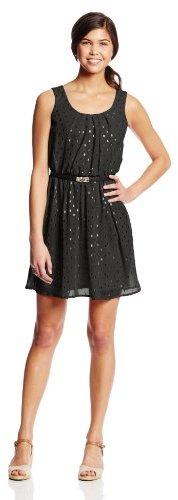 Amy Byer A. Byer Juniors Short-Sleeve Dress