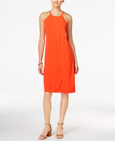 Bar III Faux-Wrap Shift Dress, Created for Macy's