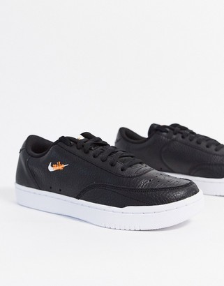 Nike Court Vintage trainers in black