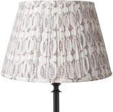 OKA 41cm Pleated Daun Cotton Lampshade