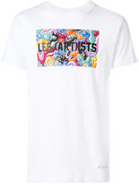 Les (Art)ists graphic logo printed T-shirt - men - Cotton - S