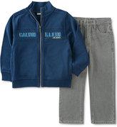 Calvin Klein Baby Boys' 2-Pc. Zip-Up Jacket & Jeans Set